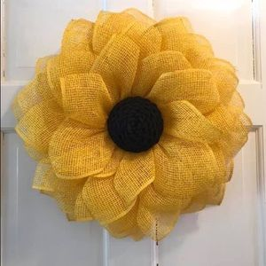 Sunflower wreath Great Mother's Day gift